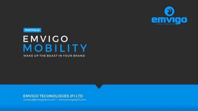 Emvigo Mobility Portfolio