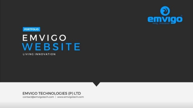 Emvigo Website Portfolio