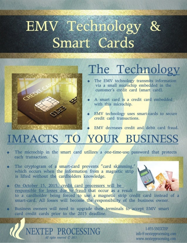 EMV Technology & smart cards
