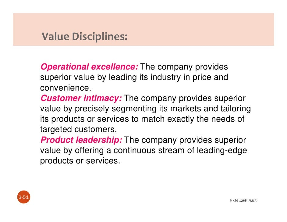 nike with product leadership value discipline Product differentiation at nike another big part of nike's product differentiation strategy is its relationships with its cost leadership at nike.