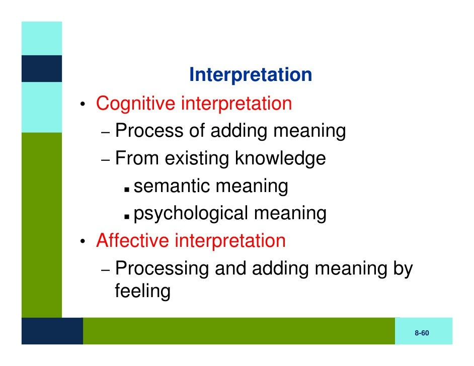 types of perception in psychology pdf