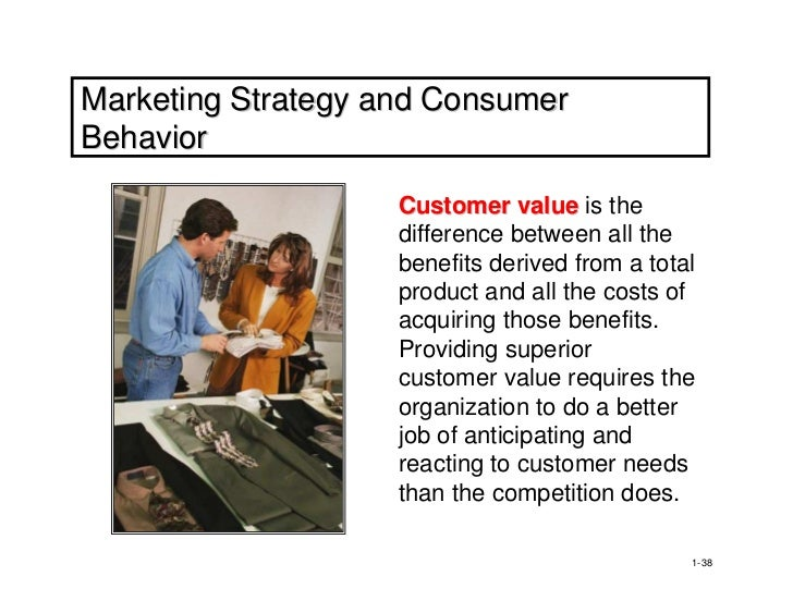 consumer behaviour and marketing strategy Understanding consumer behavior is the initiation of the creation of an accurate marketing strategy a product's success/ failure is the evaluation of consumer responses to a particular.