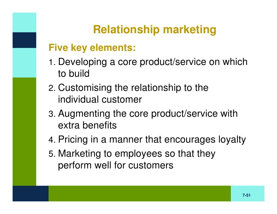 relationship marketing and loyalty