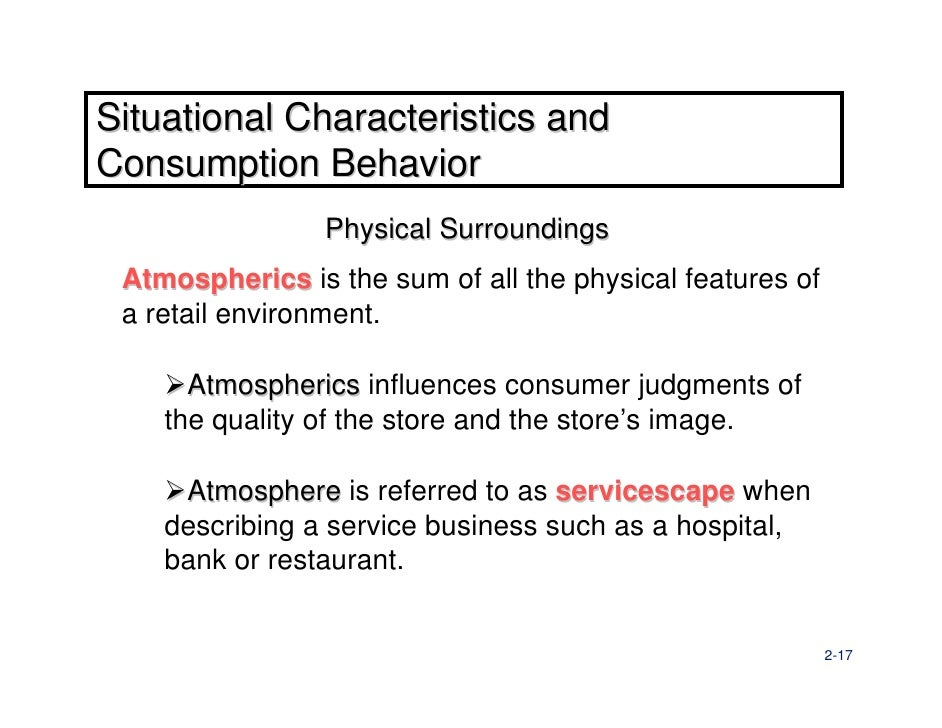 the servicescape as an antecedent to This is a clear oversight, given that understanding antecedents of customer   the effect of the servicescape on customers' behavioral intentions in leisure.