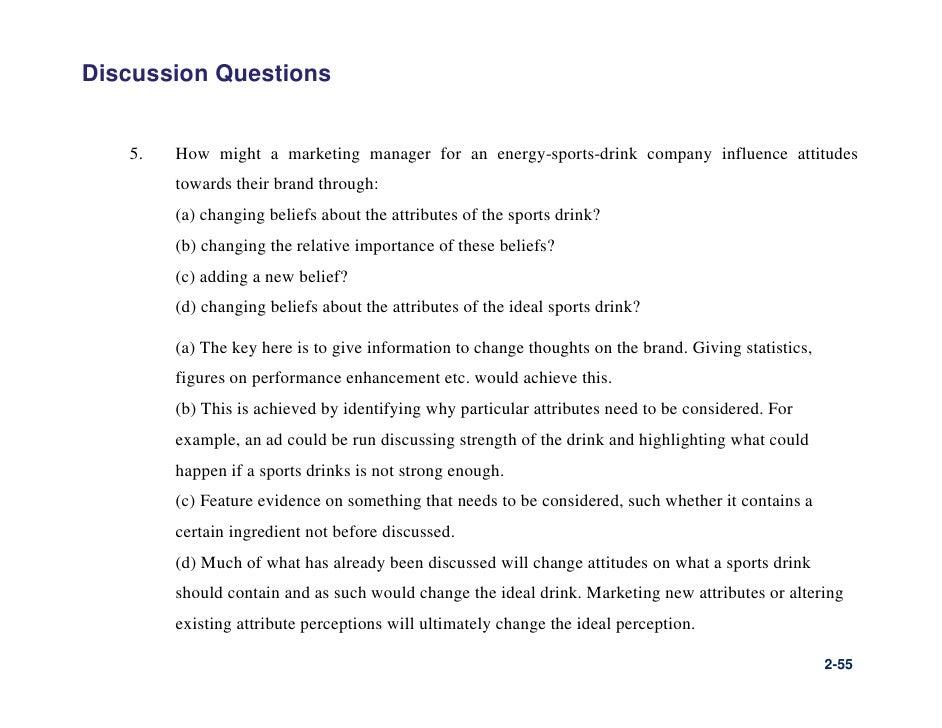 interesting marketing questions