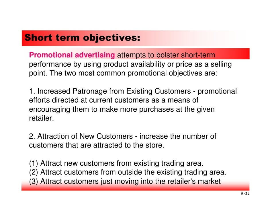 wal mart long term objectives Wal-mart's success with everyday low pricing (edlp), there is little to no   fluctuations around its long-term objective to determine its strategy or plan of  action.