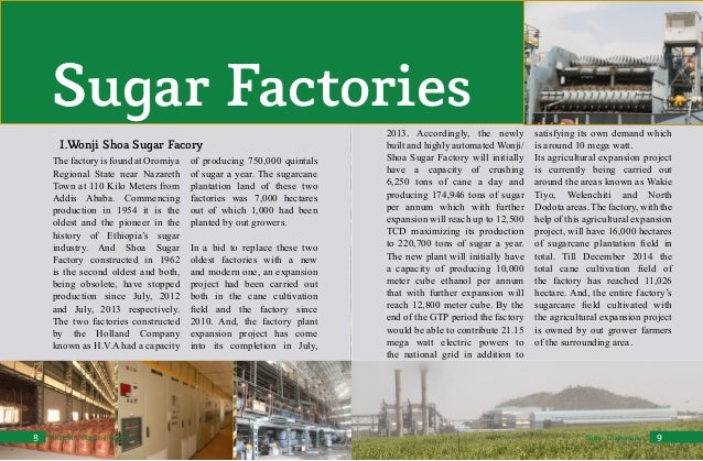 sugar industry profile Of sugarcane cultivation and sugar production of them depended, to a great extent, the fate of the sugar industry in puerto rico in the 16th century.