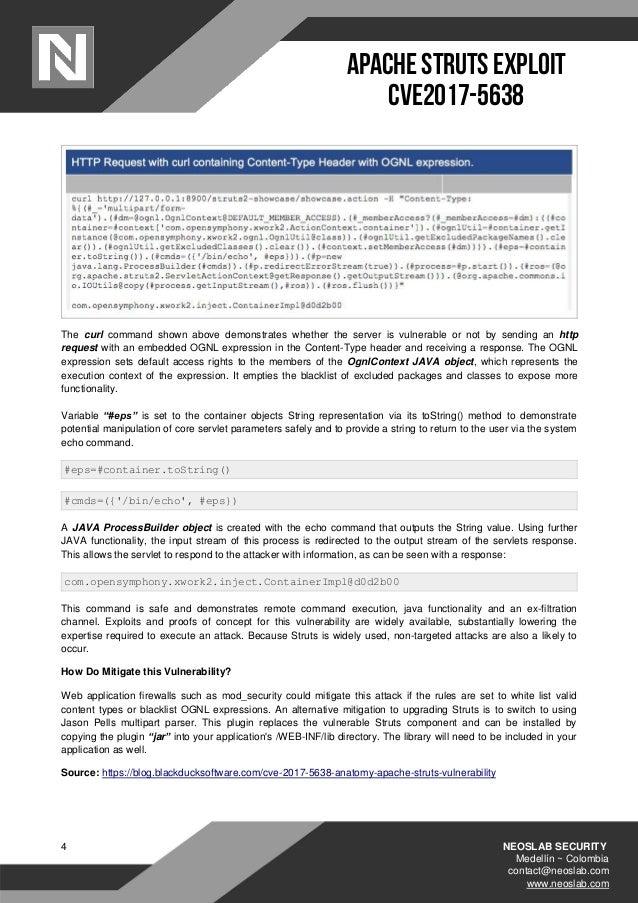 How to Exploit Apache Struts Vulnerability