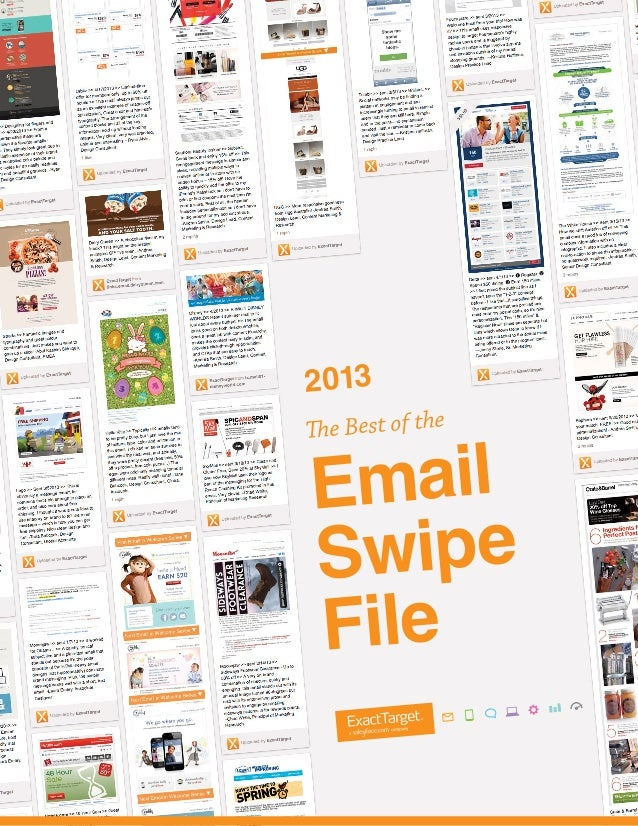 2013  The Best of the  Email Swipe File