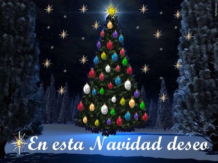 En esta Navidad deseo