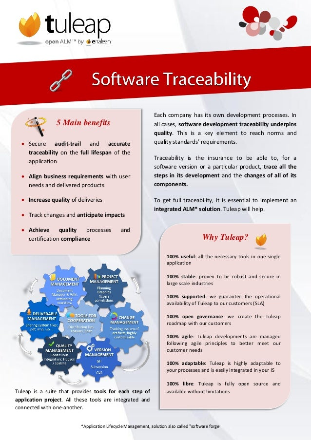 Each company has its own development processes. In                5 Main benefits                                all cases...