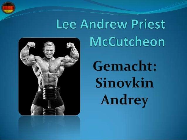  Arbeit: Professionell Bodybuilder.  Datum den Geburstag: 6 Juli 1972.  Geburtsort: Newcastle, Australien.  Schule:Plä...