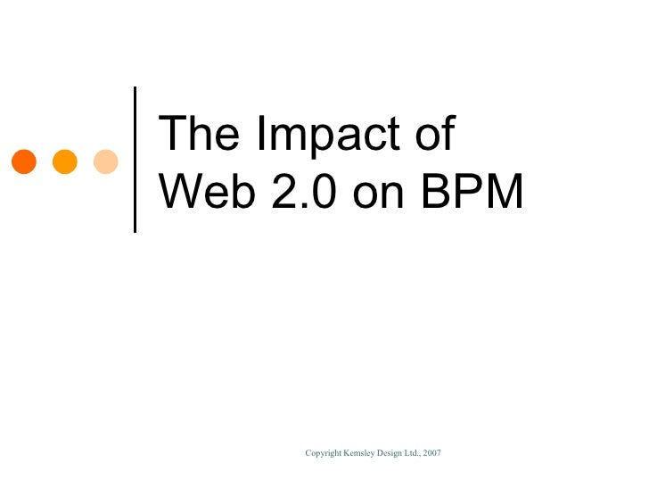 Enabling BPM Through Technology