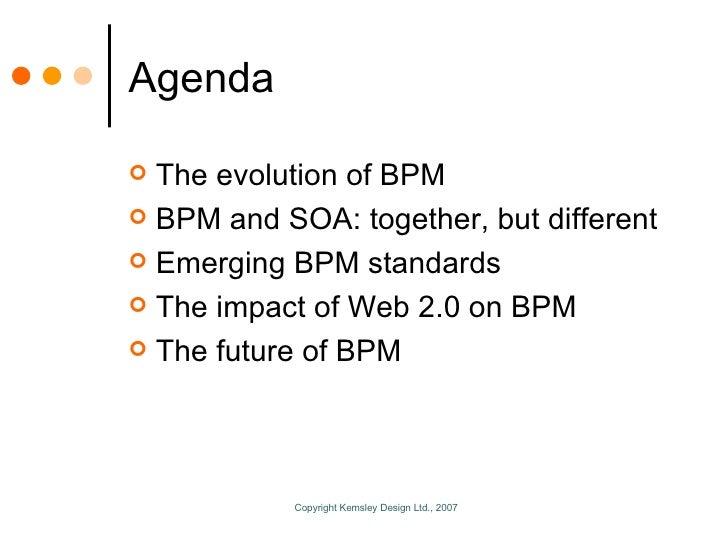 Enabling BPM Through Technology Slide 2