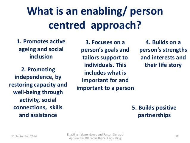 promote person centred approaches 2 essay Author: topic: unit 7 - promote person centred approaches in health and social care (read 23686 times.