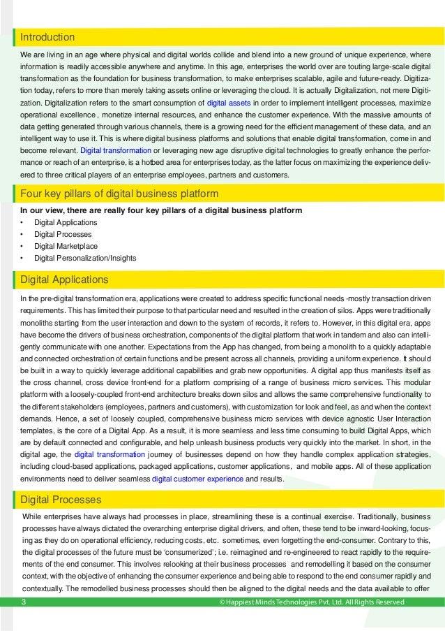 © Happiest Minds Technologies Pvt. Ltd. All Rights Reserved • Digital Applications • Digital Processes • Digital Marketpla...