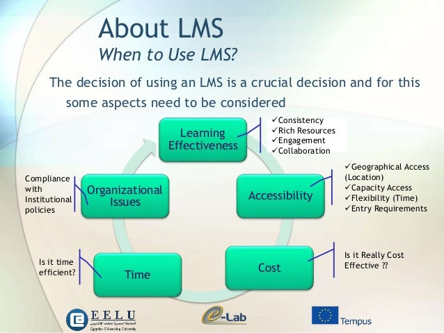 the use of an lms to Let's take a look at some of the reasons small and medium sized businesses should consider investing in an learning management system(lms) to grow your business.
