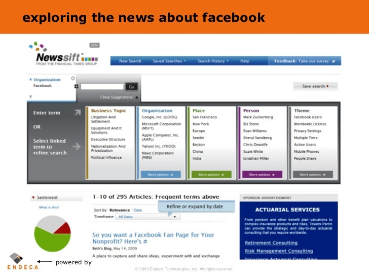 exploring the news about facebook powered by