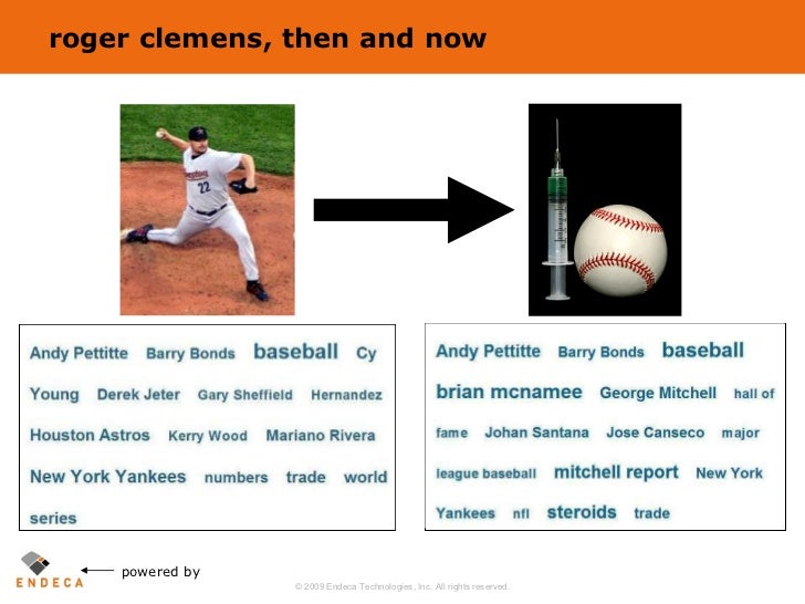 roger clemens, then and now powered by