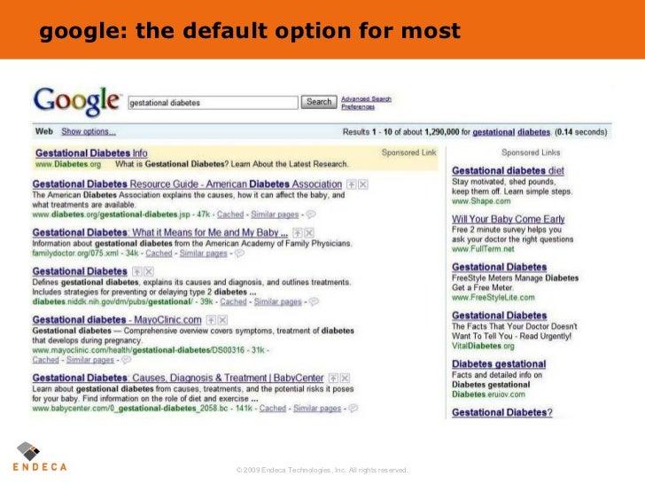 google: the default option for most