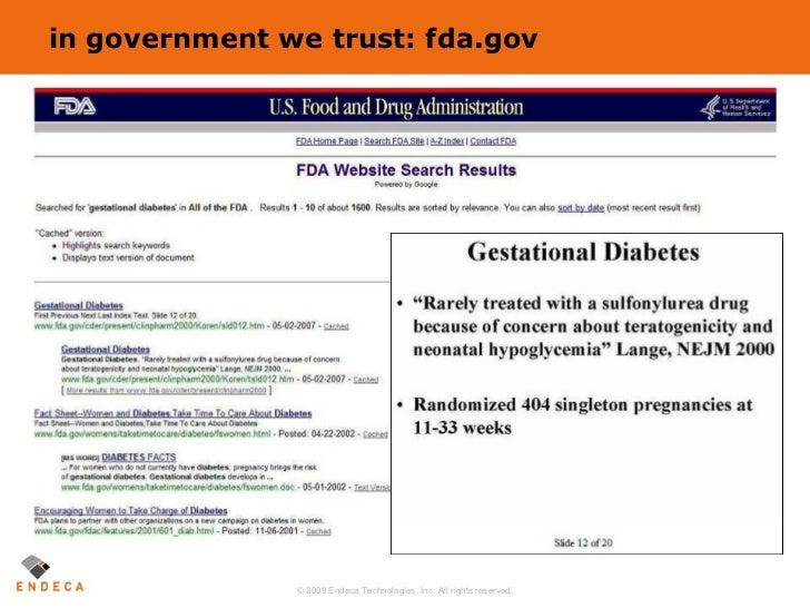 in government we trust: fda.gov