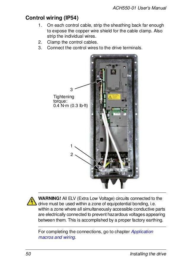 abb ach550 control wiring diagram