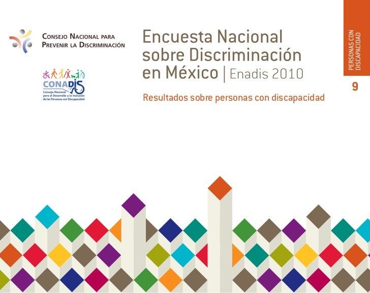 9Resultados sobre personas con discapacidad