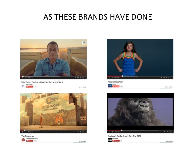 AS  THESE  BRANDS  HAVE  DONE