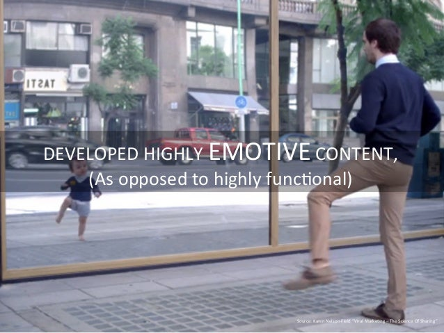DEVELOPED  HIGHLY  EMOTIVE  CONTENT,   (As  opposed  to  highly  func=onal)   Source:  Karen  Nelson...