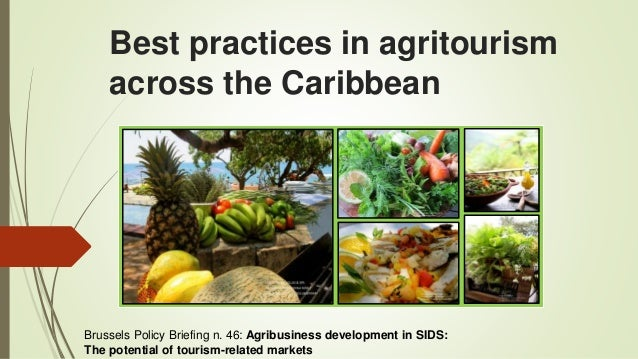 Best practices in agritourism across the Caribbean Ena Harvey, Expert in Agritourism, IICA, Caribbean Brussels Policy Brie...
