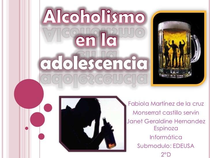 La fitorecogida del alcoholismo