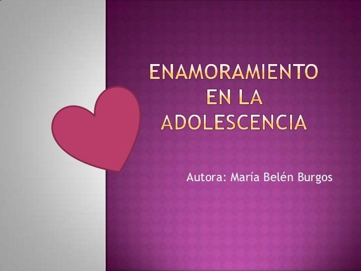 Autora: María Belén Burgos