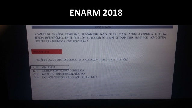 ENARM 2018