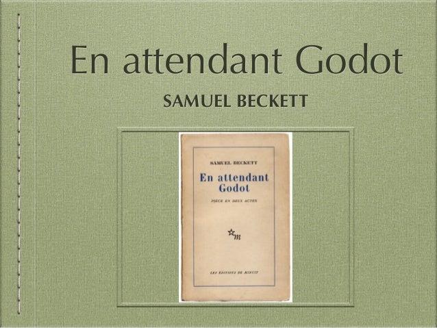 En attendant Godot SAMUEL BECKETT