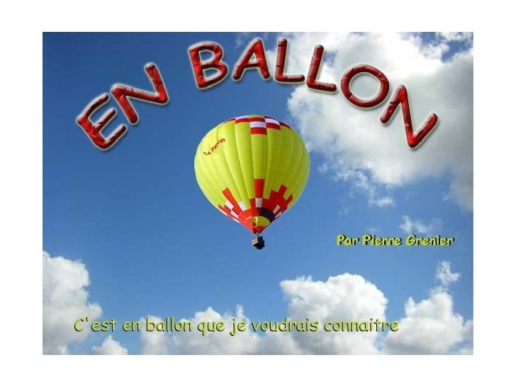 En Ballon (Version 2)