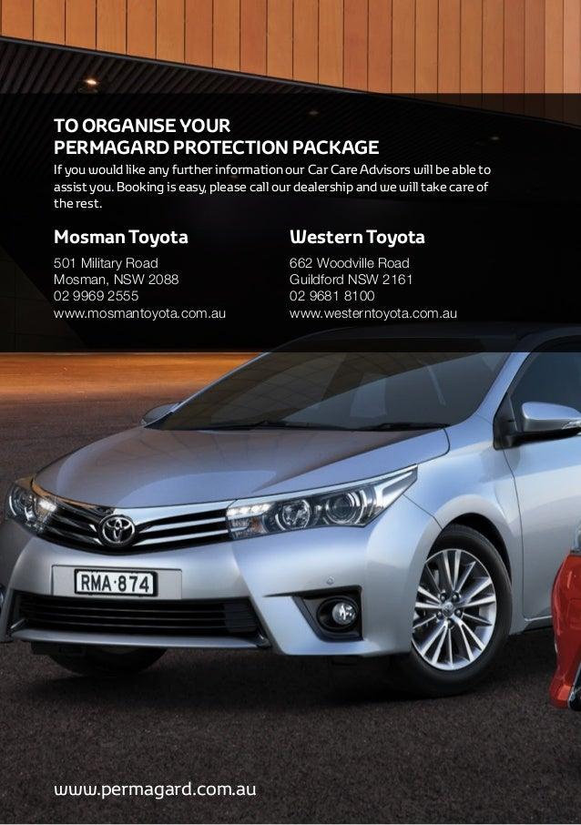 Mosman & Western Toyota Protection Program by Permagard Automotive Au…