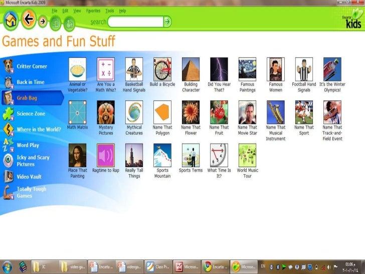 Encarta kids encyclopedia 2012