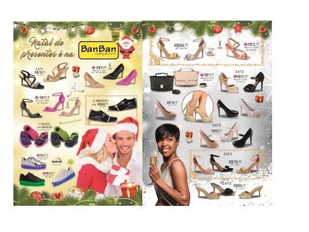 Encarte Natal Ban Ban Calçados 2016