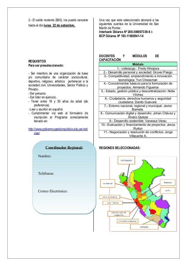 Encarte LIMA 2014 Slide 2