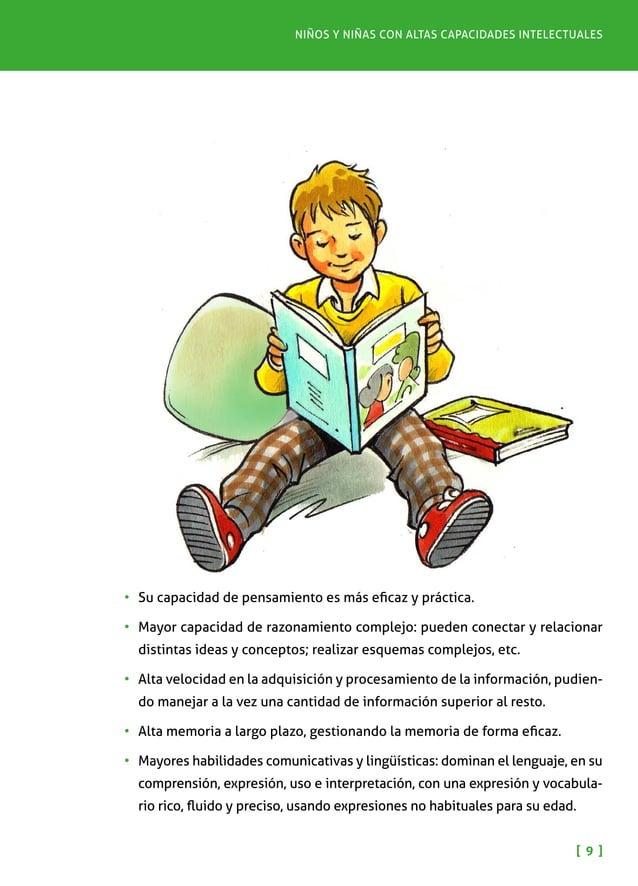 Pautas para padres y madres [ 1 0 ] •Su capacidad de comunicación no verbal es alta, pudiendo también inter- pretar las ...