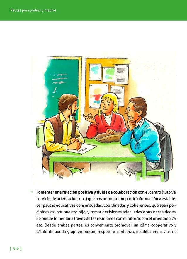 NIÑOS Y NIÑAS CON ALTAS CAPACIDADES INTELECTUALES [ 3 1 ] diálogo bidireccionales y diferenciando los roles de cada uno. E...