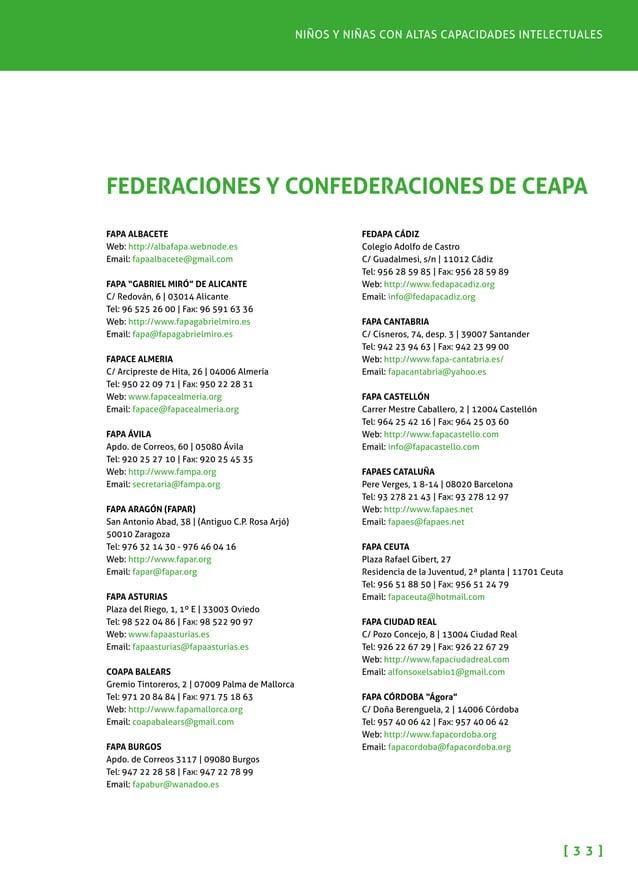 Pautas para padres y madres [ 3 4 ] FAPA CUENCA Avda. República Argentina, 10, 2º dcha. | 16004 Cuenca Tel: 969 21 31 50 |...