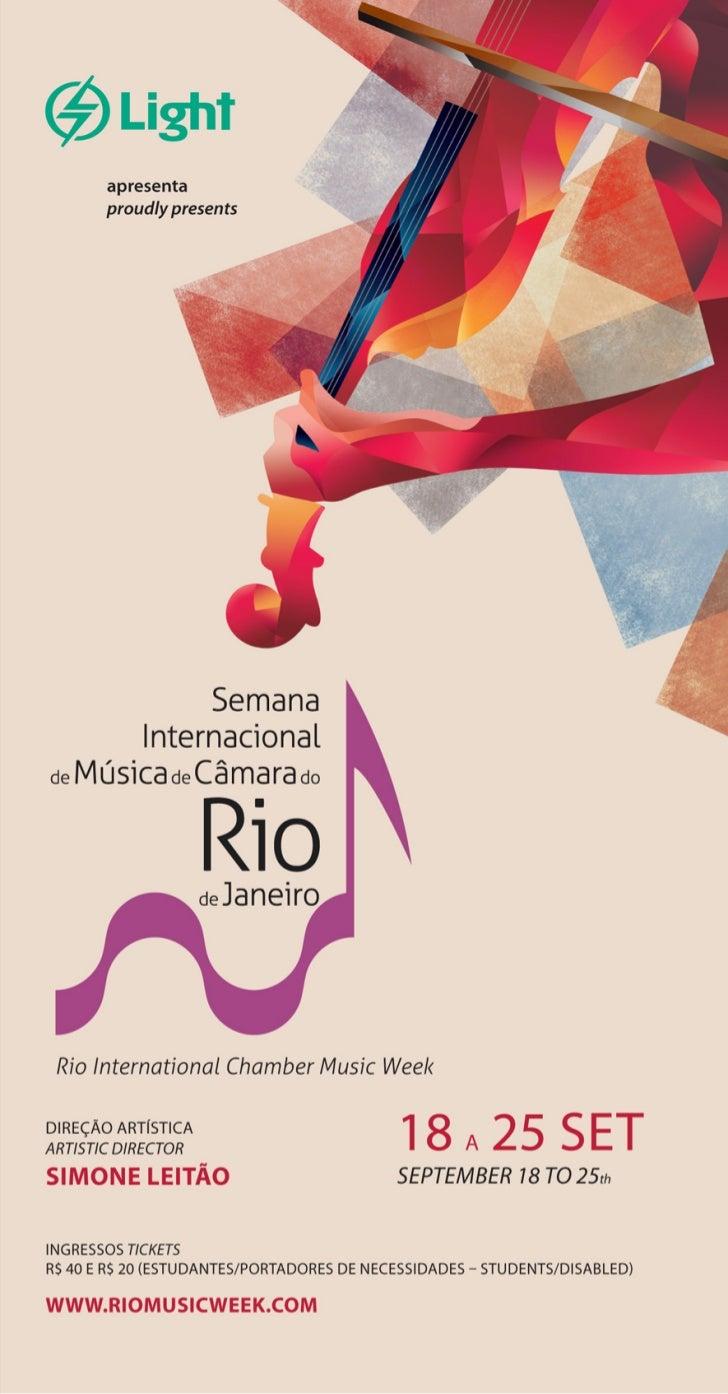 SEMANA INTERNACIONAL DE MUSICA DE CÂMARA DO RIO