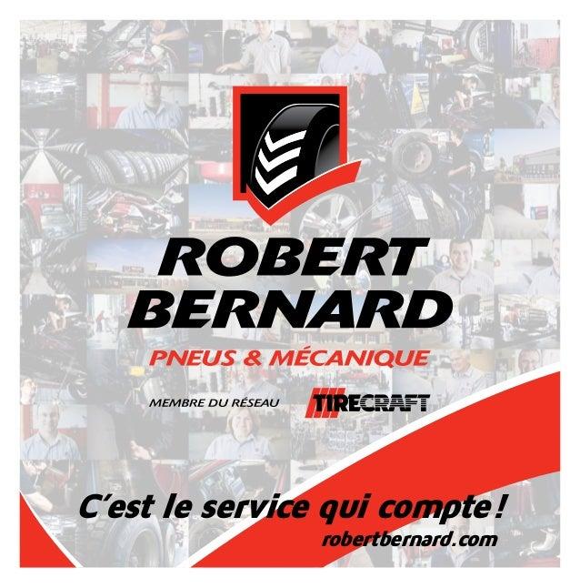 C'est le service qui compte! robertbernard.com