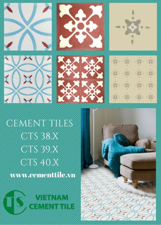 Cement Tile Shop - Encaustic Cement Tile