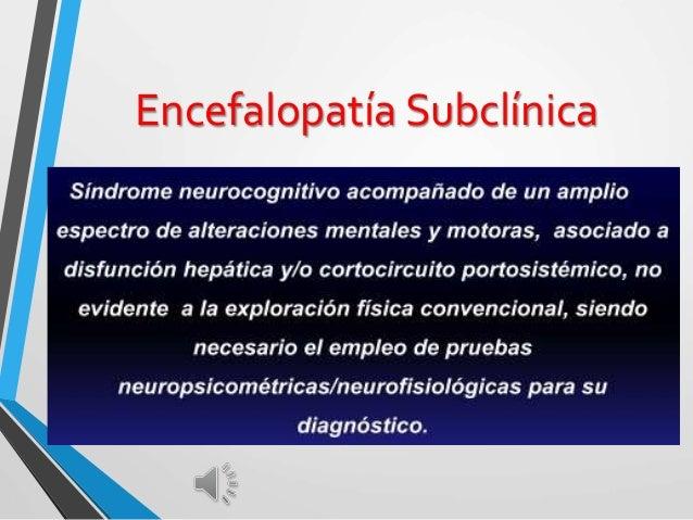 Encefalopatía Subclínica