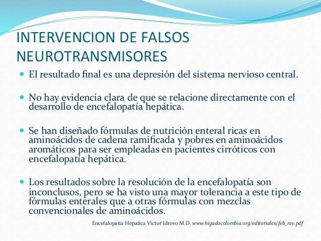 INTERVENCION  DE  FALSOS   NEUROTRANSMISORES   — El  resultado  final  es  una  depresión  del  sis...