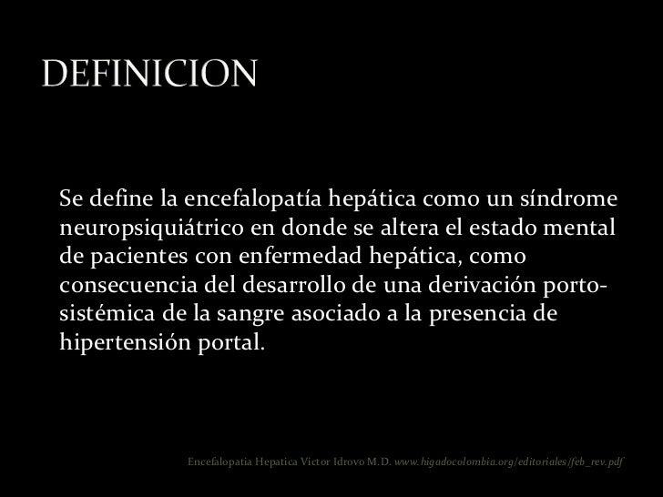 Encefalopatia hepatica rubens Slide 2