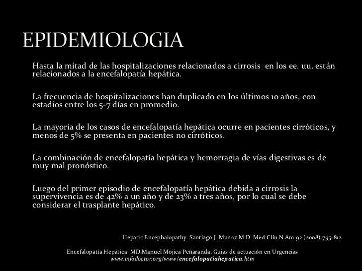 Encefalopatia hepatica rubens Slide 3