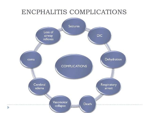 ENCPHALITIS COMPLICATIONS